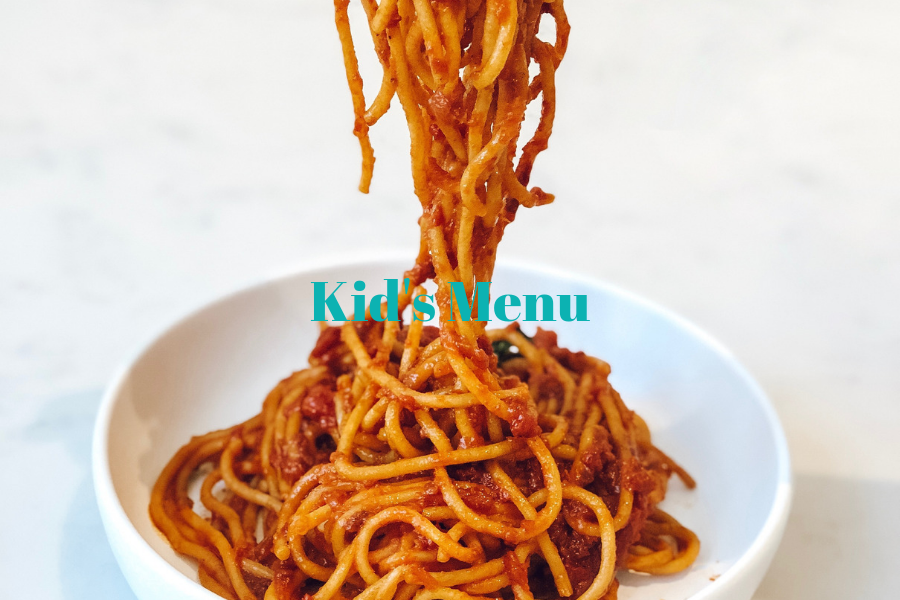 Kid's Menu
